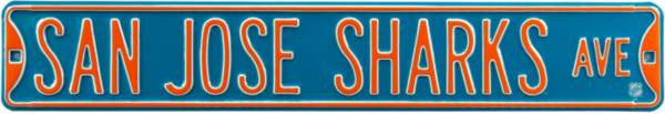 Authentic Street Signs San Jose Sharks Ave Sign product image