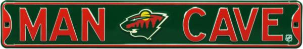 Authentic Street Signs Minnesota Wild 'Man Cave' Street Sign product image