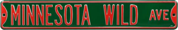 Authentic Street Signs Minnesota Wild Ave Sign product image