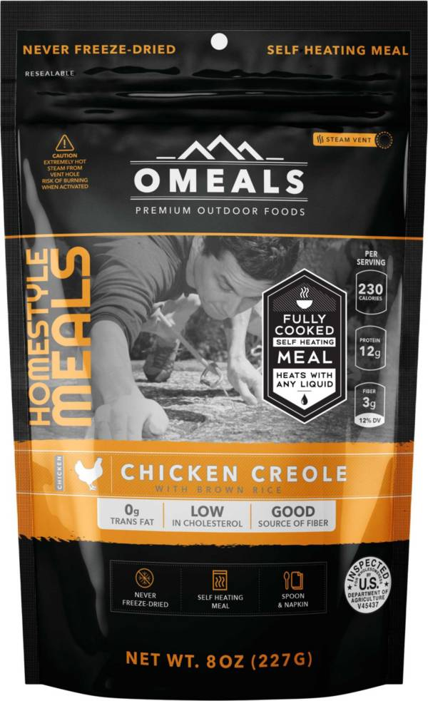 Omeals Chicken Creole With Brown Rice product image