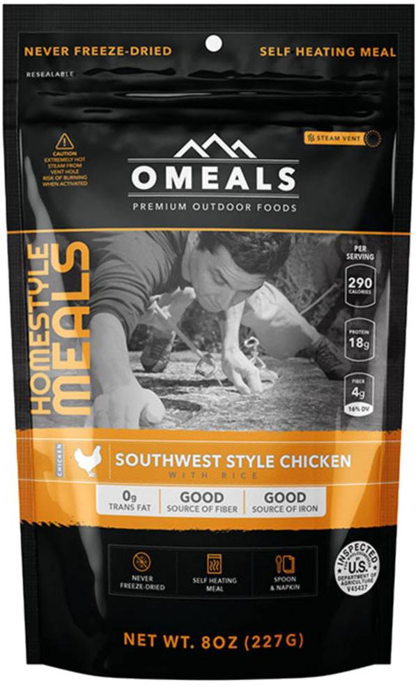 Omeals Southwest Style Chicken With Rice product image