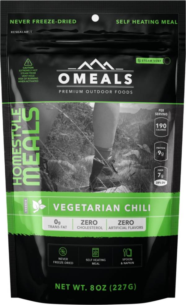 OMEALS 8 oz. Vegetarian Chili product image