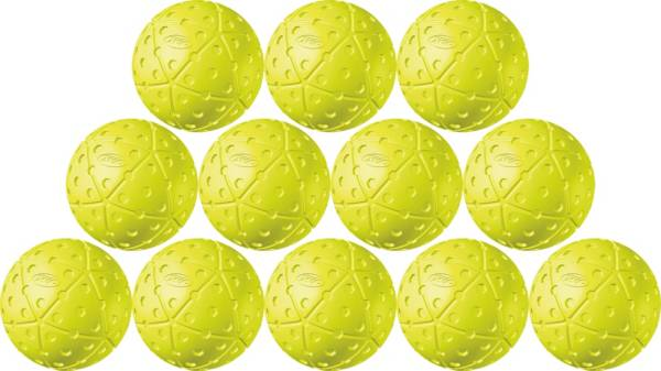 """ATEC 12"""" Hi.Per X-ACT Pitching Machine Fastpitch Softballs - 12 Pack product image"""