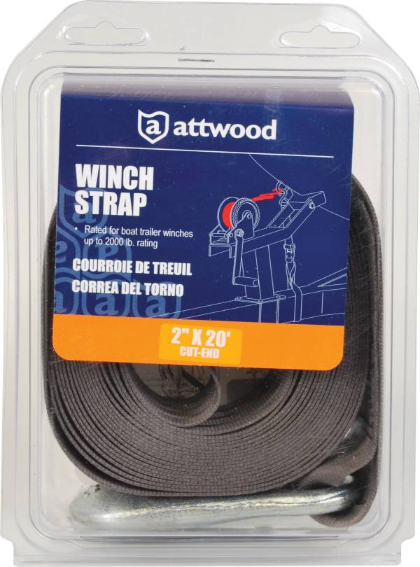 Attwood 2-Inch x 20-Foot Cut End Winch Strap product image
