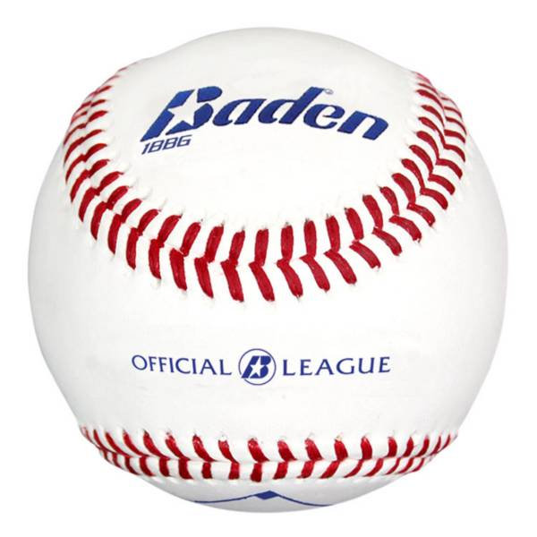 Baden Official League Leather Baseball - 12-Pack product image