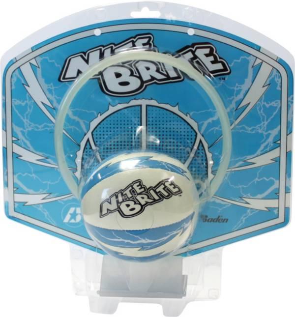 Baden Nite Brite Glow-in-the-Dark Mini Basketball and Hoop Set product image