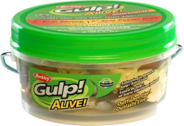 Berkley Gulp! Alive! Shrimp and Peeler Crab Assortment - Pint product image