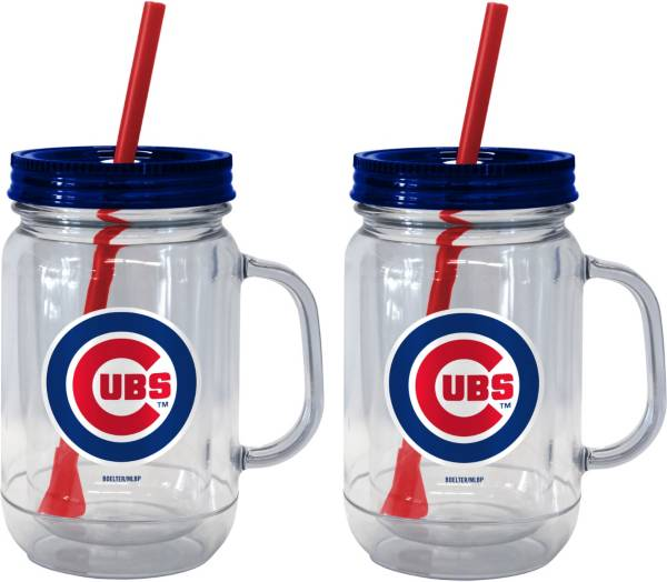 Boelter Chicago Cubs 20oz Handled Straw Tumbler 2-Pack product image