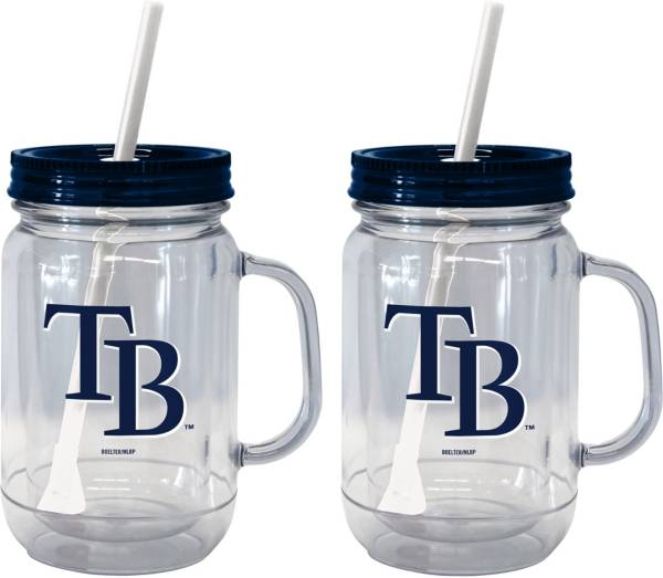 Boelter Tampa Bay Rays 20oz Handled Straw Tumbler 2-Pack product image