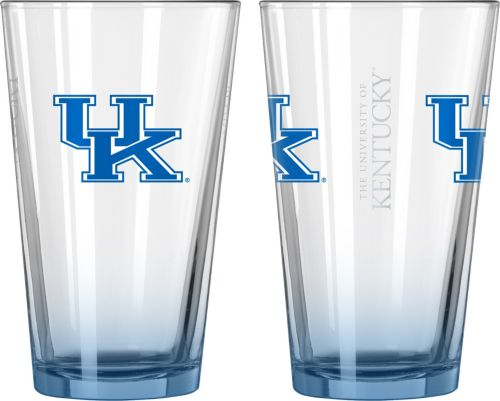 9940aefb9a07 Boelter Kentucky Wildcats 16oz Elite Pint 2-Pack | DICK'S Sporting Goods