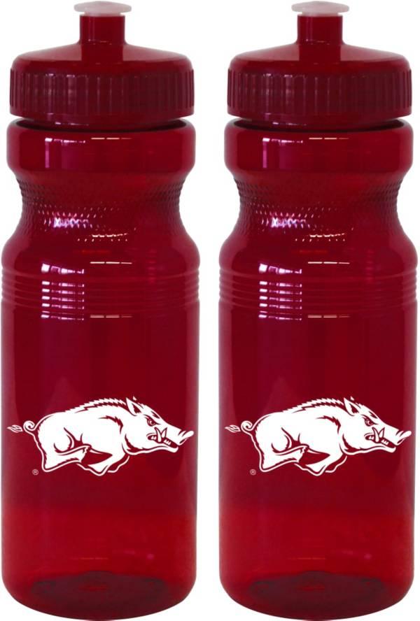 Boelter Arkansas Razorbacks 24oz Squeeze Water Bottle 2-Pack product image