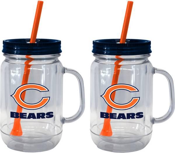Boelter Chicago Bears 20oz Handled Straw Tumbler 2-Pack product image