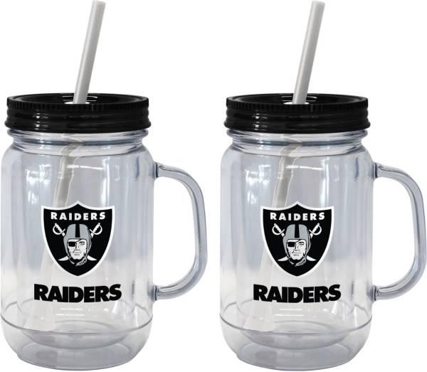 Boelter Las Vegas Raiders 20oz Handled Straw Tumbler 2-Pack product image