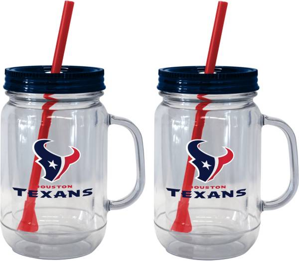Boelter Houston Texans 20oz Handled Straw Tumbler 2-Pack product image