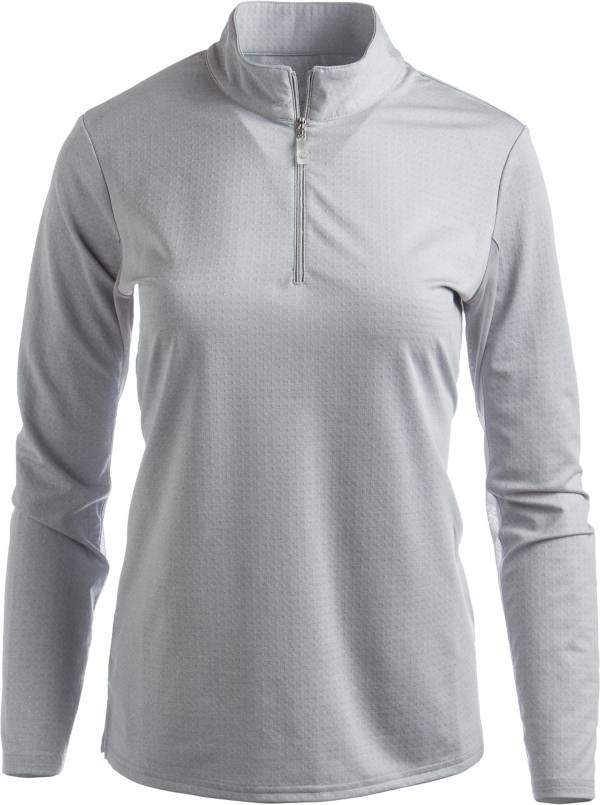 Bette & Court Women's Cool Elements Mesh Long Sleeve Golf Polo product image
