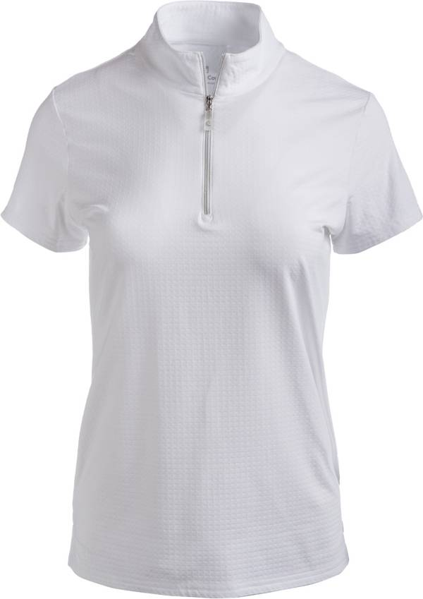 Bette & Court Women's Cool Elements Swing Mock Golf Polo product image