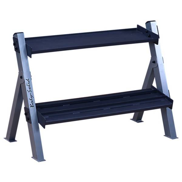 Body Solid GDKR100 Kettlebell and Dumbbell Rack product image
