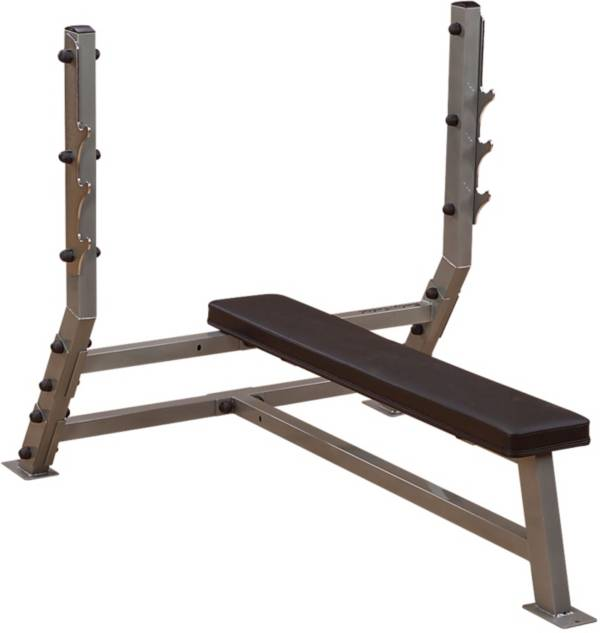 Body Solid Pro Clubline SFB349G Olympic Flat Weight Bench product image
