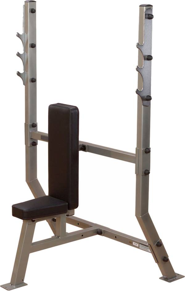 Body Solid Pro Clubline SPB368G Olympic Shoulder Press Machine product image