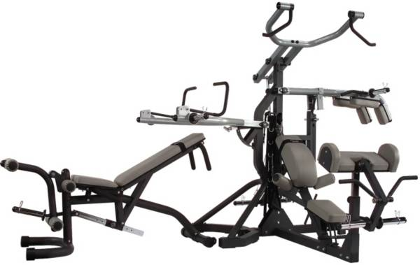 Body Solid SBL460P4 Free Weight Leverage Rack Package product image