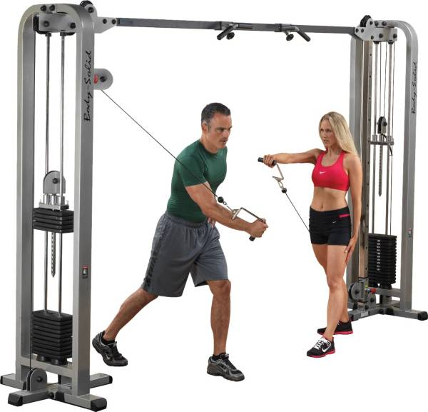Body Solid Pro Clubline SCC1200G1 Cable Crossover product image