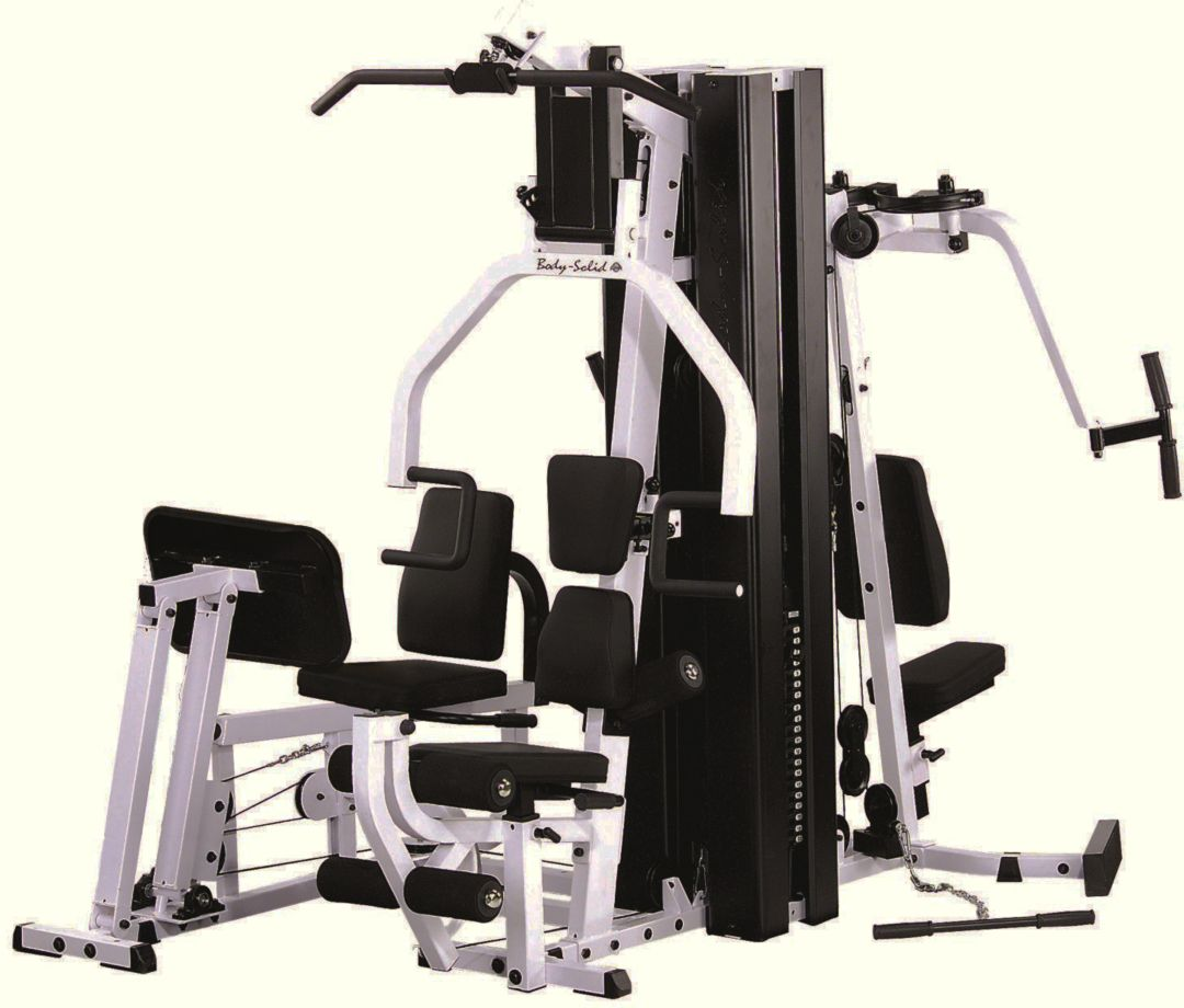 Body solid exm3000lps 2 stack home gym dicks sporting goods