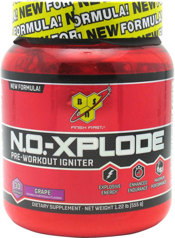 BSN N.O.-XPLODE Pre-Workout Grape 30 Servings product image