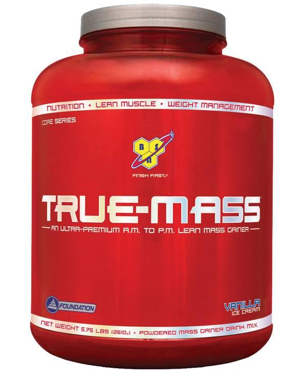 BSN True-Mass Protein Powder Vanilla 5.75 lbs product image