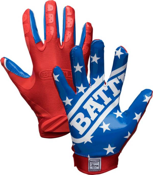 Battle Adult American Flag Limited Edition Receiver Gloves product image
