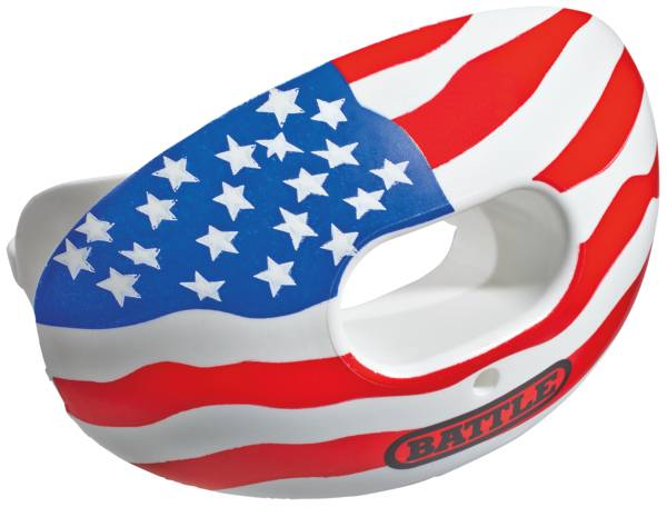 Battle Oxygen American Flag Convertible Mouthguard product image