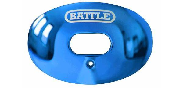 Battle Sports Science Adult Chrome Oxygen Lip Guard product image