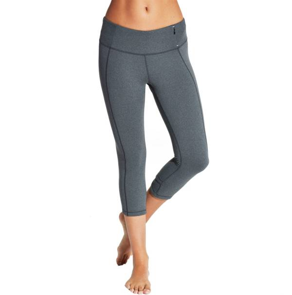 CALIA by Carrie Underwood Women's Essential Crossover Heather Fitted Capris product image