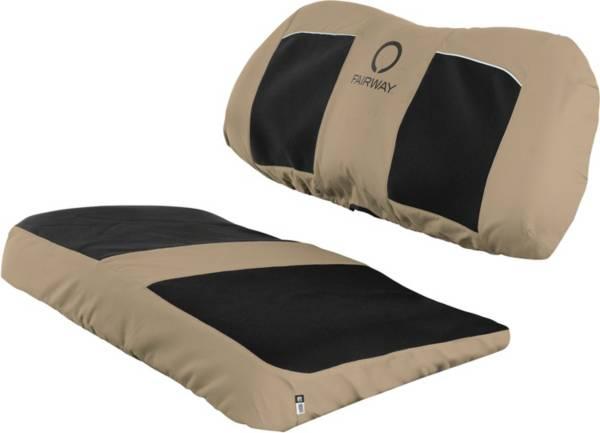 Classic Accessories Fairway Khaki Neoprene-Paneled Seat Cover product image