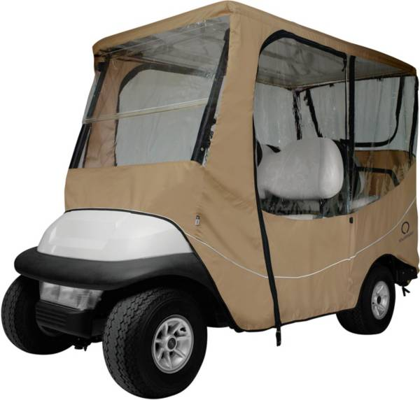 Classic Accessories Fairway Travel Long Golf Cart Enclosure - Khaki product image