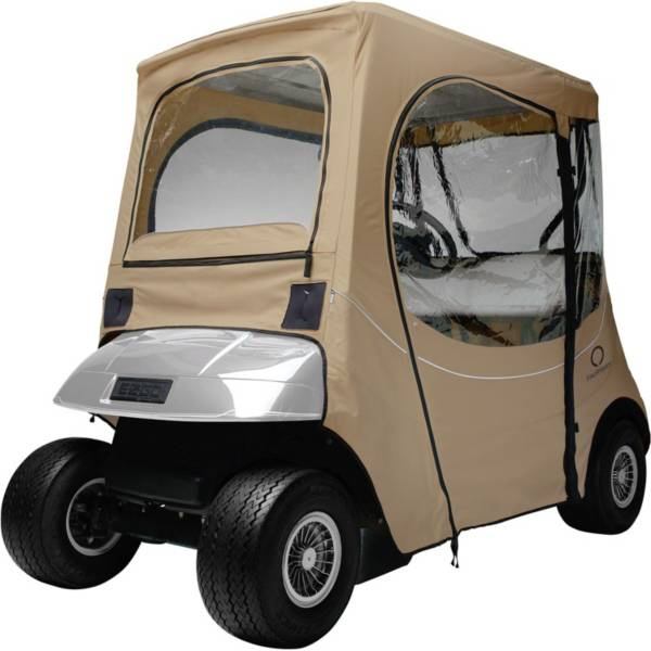Classic Accessories Fairway FadeSafe E-Z-GO Khaki Golf Cart Enclosure product image