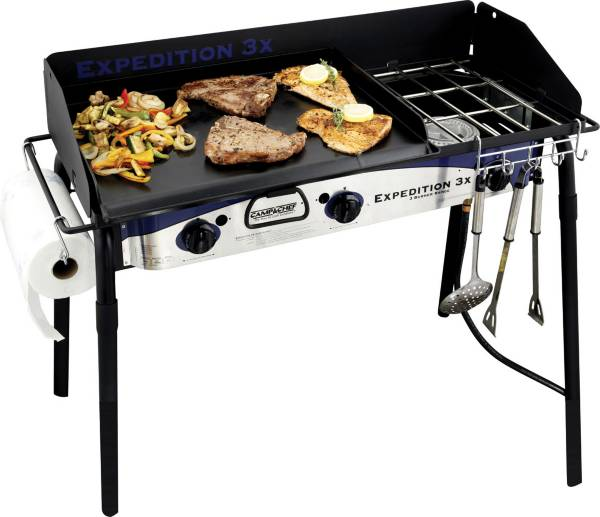 Camp Chef Expedition Triple Burner Stove with Griddle product image