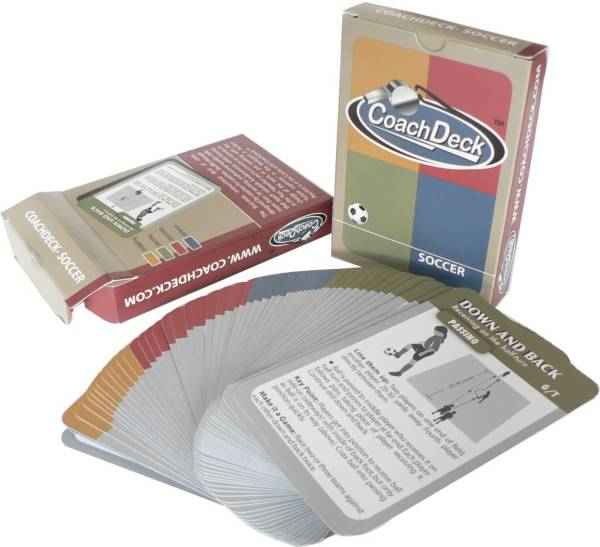CoachDeck Instructional Soccer Drill Cards product image