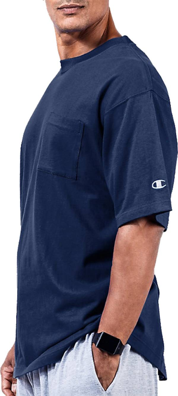 Champion Men's Big & Tall Pocket Jersey T-Shirt (Regular and Big & Tall) product image