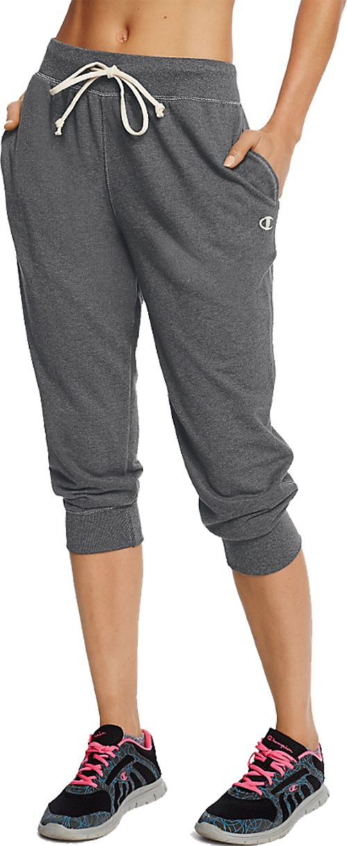 50a4ebd7b Champion Women s French Terry Jogger Capris