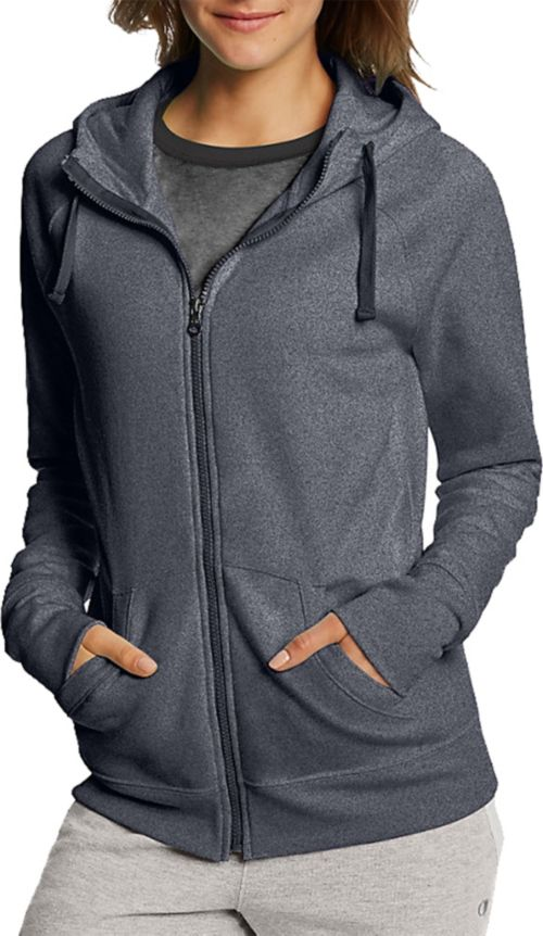 0a7a6b6f721 Champion Women s Fleece Full Zip Hoodie