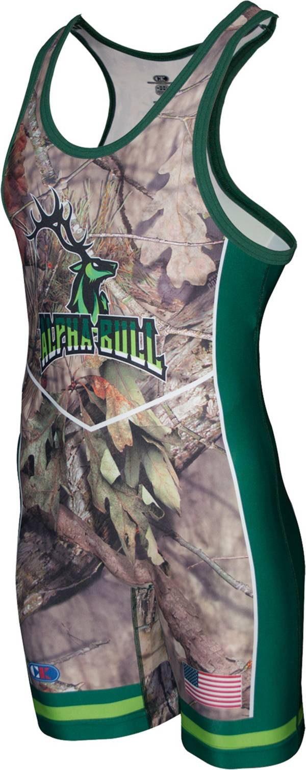 Cliff Keen Metcalf Series Alpha Bull Wrestling Singlet product image