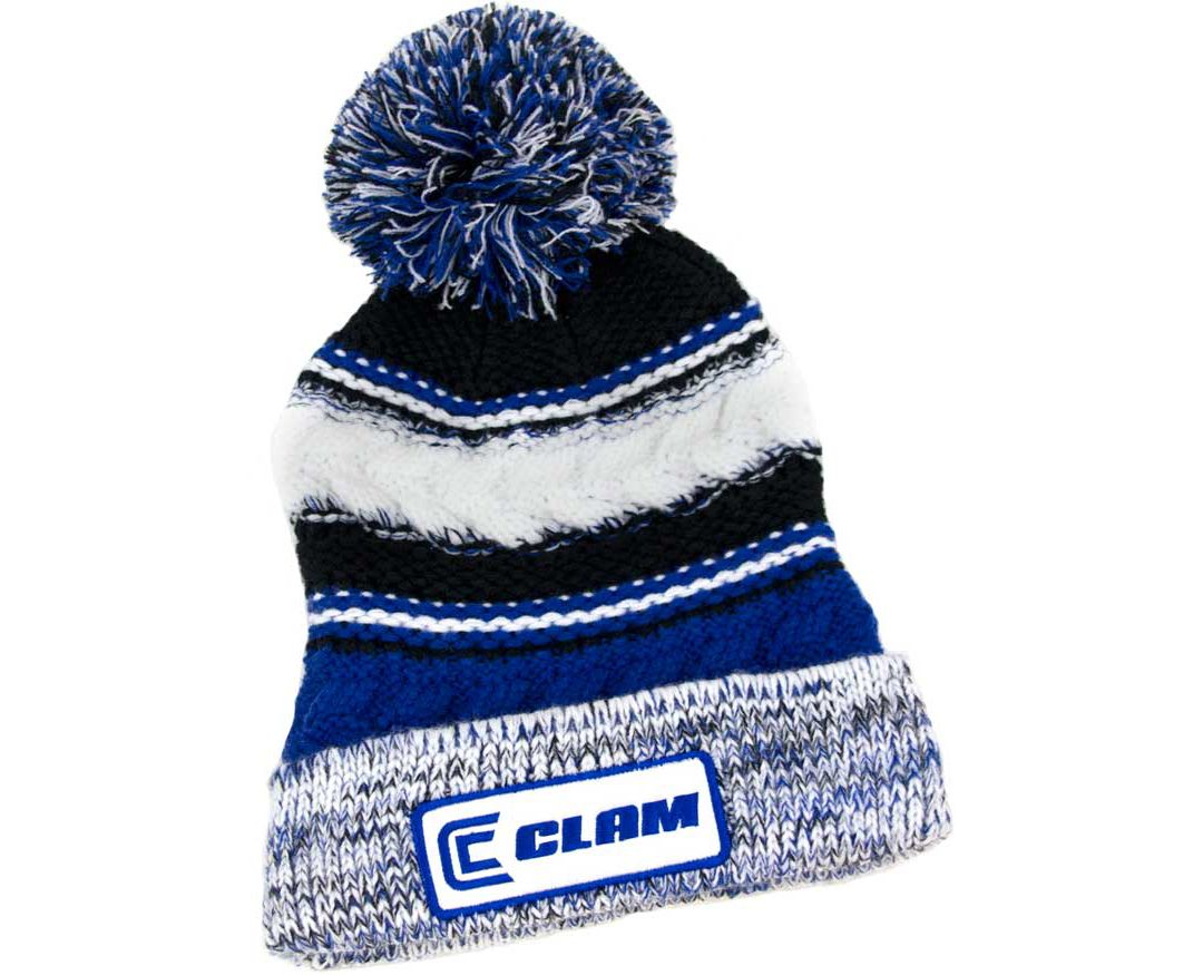 4e414c105f8aab Clam Knit Pom Beanie   DICK'S Sporting Goods