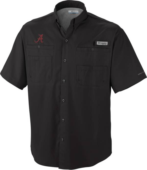 Columbia Men's Alabama Crimson Tide Black Tamiami Performance Shirt product image