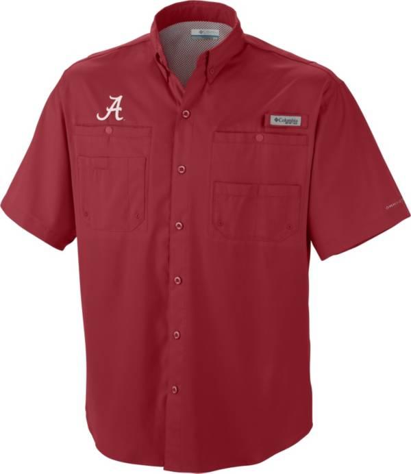 Columbia Men's Alabama Crimson Tide Crimson Tamiami Performance Shirt product image