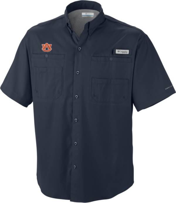 Columbia Men's Auburn Tigers Blue Tamiami Performance Shirt product image