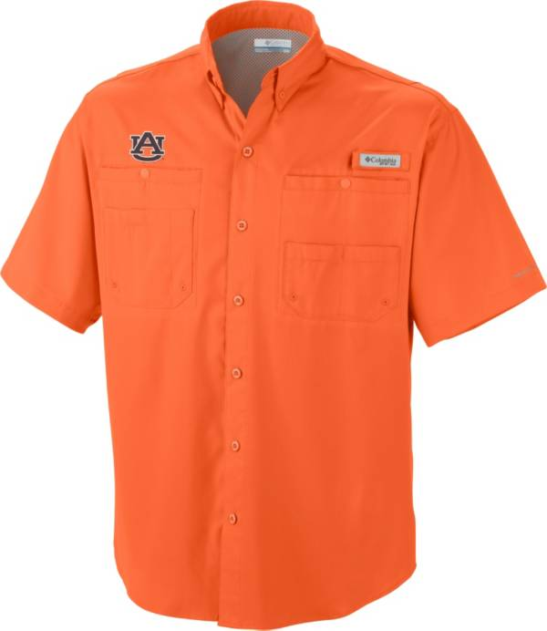 Columbia Men's Auburn Tigers Orange Tamiami Performance Shirt product image