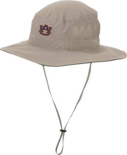 Columbia Men s Auburn Tigers Khaki Bora Bora Booney II Hat  f4d660b366a