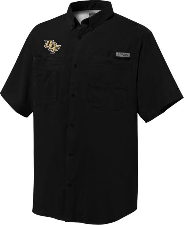 Columbia Men's UCF Knights Black Tamiami Short Sleeve Performance Shirt product image