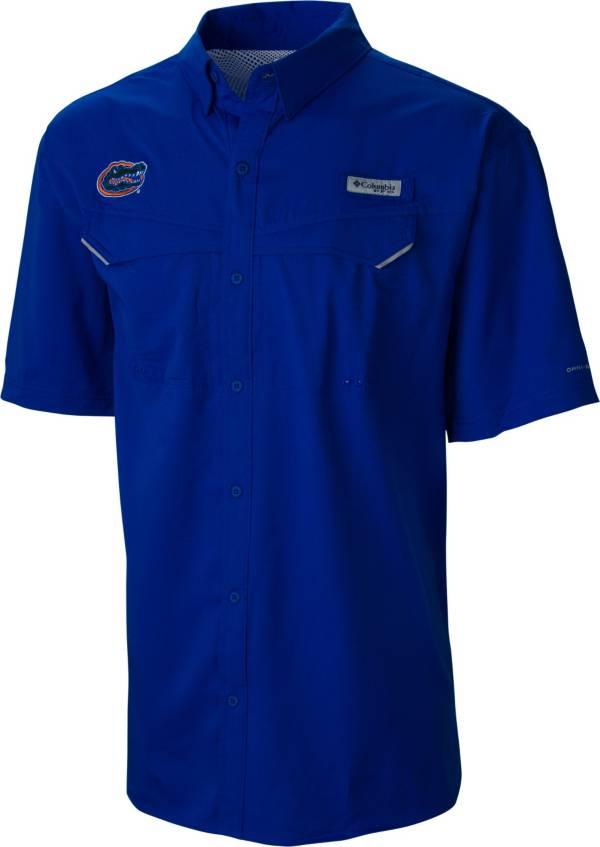 Columbia Men's Florida Gators Blue Low Drag Offshore Short Sleeve Button Down Shirt product image