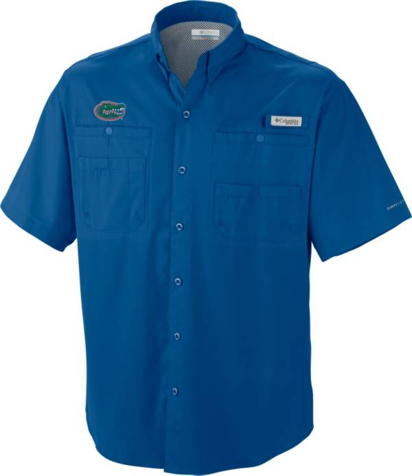 Columbia Men's Florida Gators Blue Tamiami Performance Shirt product image